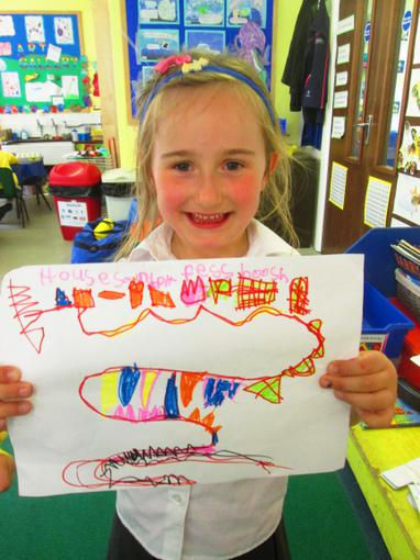We have been making treasure maps this week