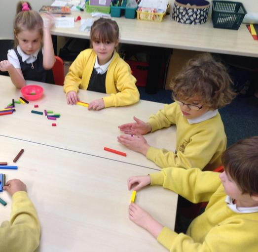 Using Cuisenaire