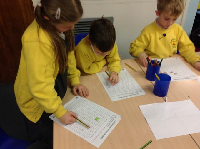 Completing our Christmas maths challenge