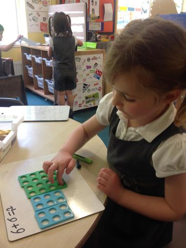 We have been doubling using Numicon