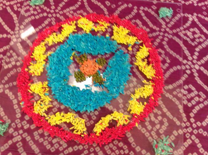Diwali Assembly Rangoli Patterns