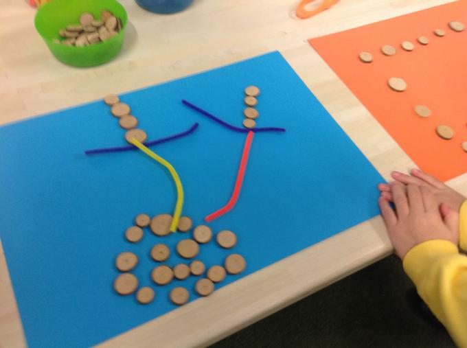Making things at the Creation Station - Reindeer