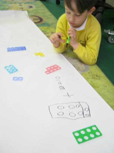 Addition with Numicon