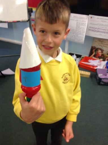 Look at my rocket!