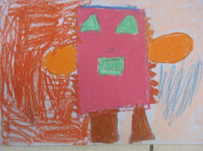 A cubist portrait