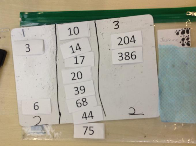 Maths challenge . . .sorting numbers into digits