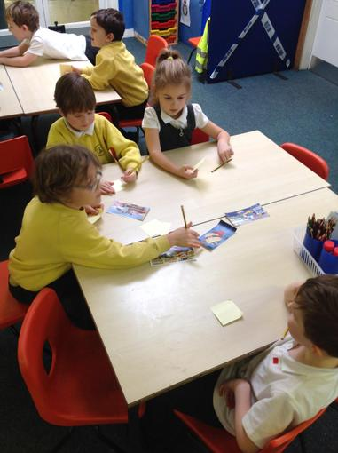 Ordering the story of 'Supertato'