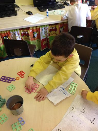 Doubling using Numicon