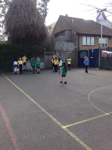Inter-House Egg and Spoon race