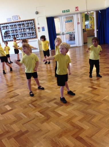 Our martial arts lesson