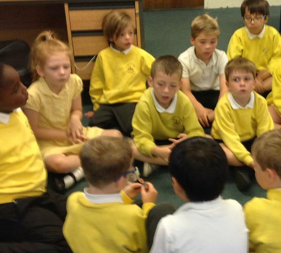 Our 'James and the Giant Peach' debate!