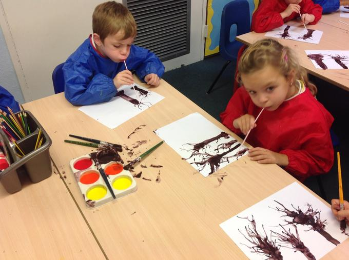 our Autumn art