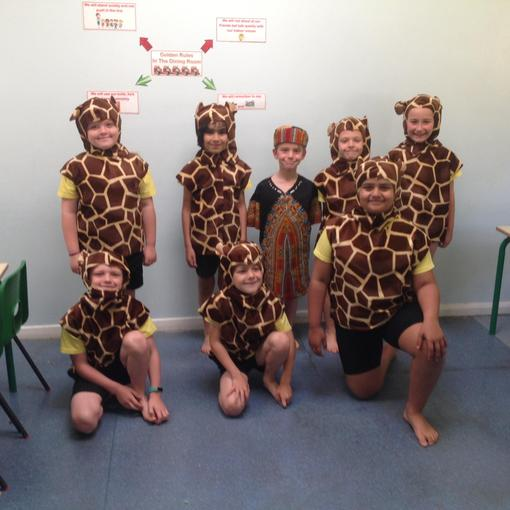 Giraffes and Ghubari
