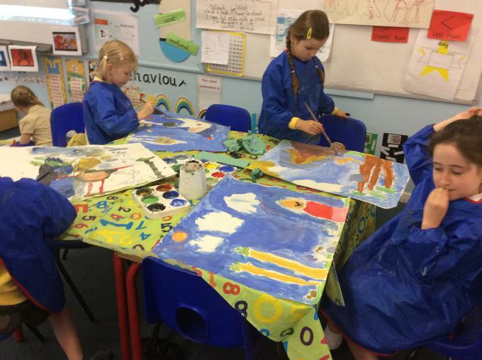 Painting our portrait-landscapes