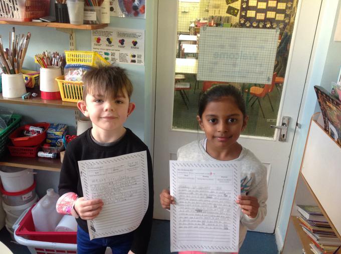 Writing diary entries
