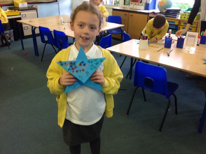 Look at my star!