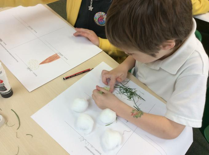 Using a range of different materials