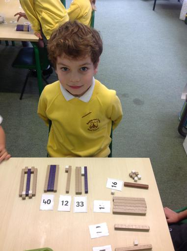 Ordering numbers using tens and ones to help us