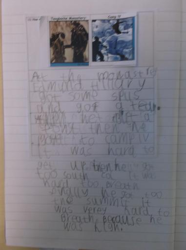 Learning all about Edmund Hillary