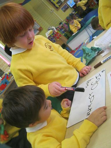 Writing tricky words