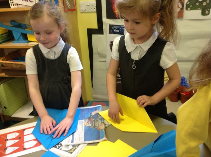 Making aeroplanes