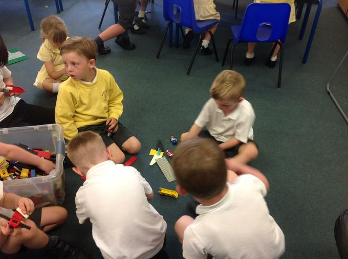 Sharing our learning with Foundation Stage