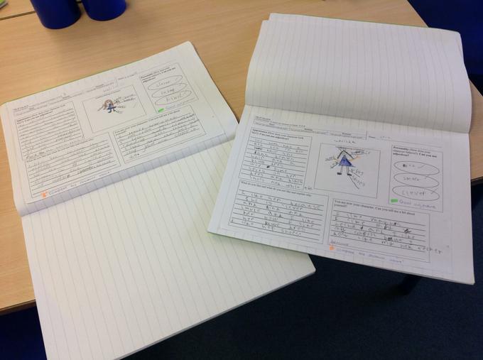 Writing about 'Matilda'