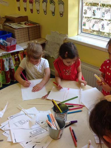 Making our England flags