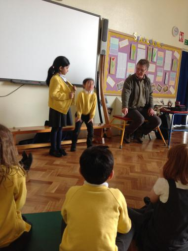 WE loved acting out different stories