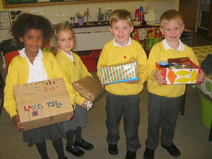 boxes for our Harvest Assembly