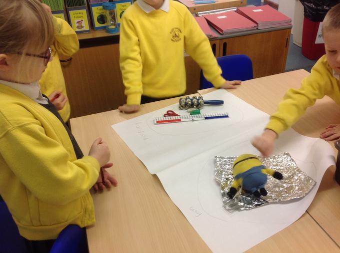 Classifying materials