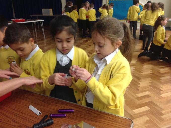 making our kaleidoscopes