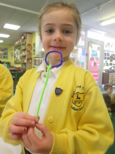 Our own bubble wands