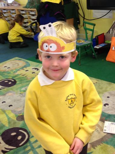 Making our bumblebear hats