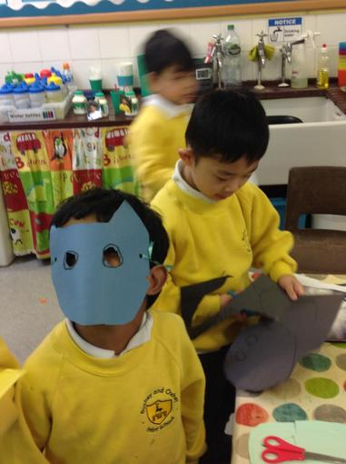 Making superhero masks