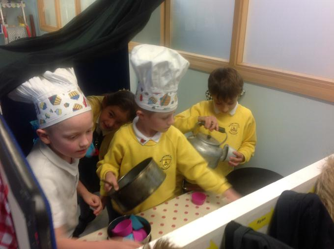 In our bakery role play
