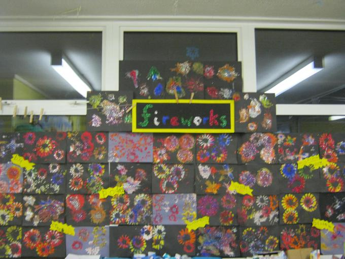 Our fantastic fireworks display
