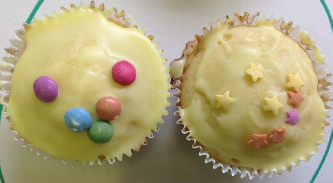 Caking making and baking for Children in Need!