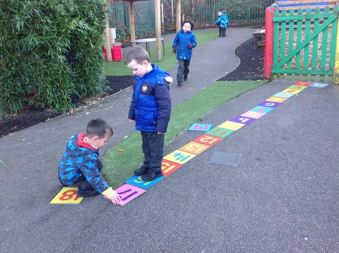 Recognising and ordering numbers 1-20