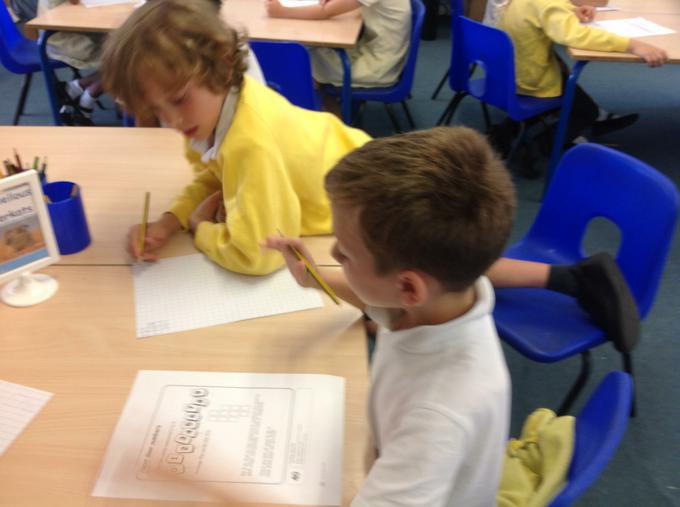 Completing our maths challenge
