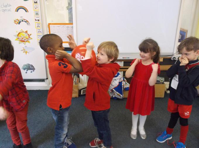 Red nose day celebrations