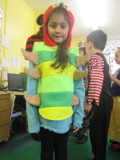 """""""I'm a very hungry caterpillar!"""""""