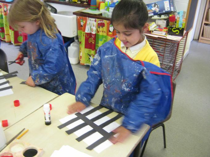 Mondrian inspired pictures