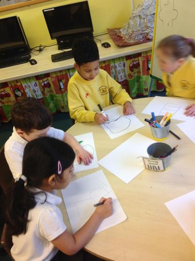Drawing pictures about what we have learned