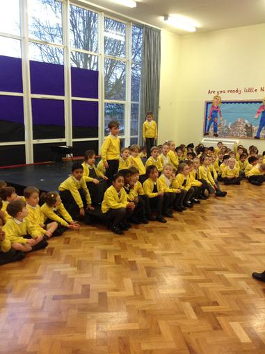 Practising for the play