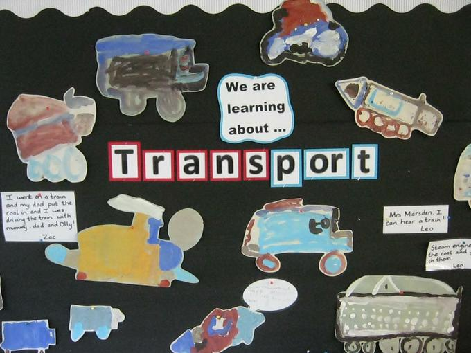 Our Transport display