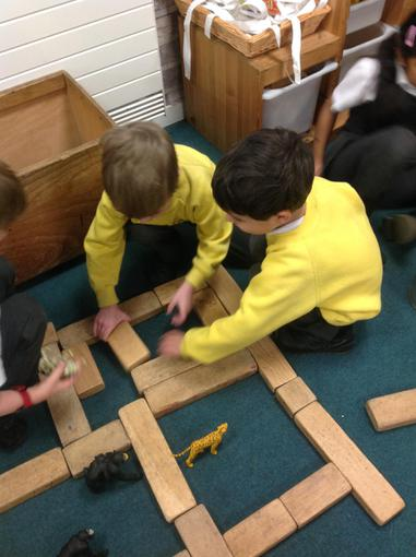 Working together to build a zoo