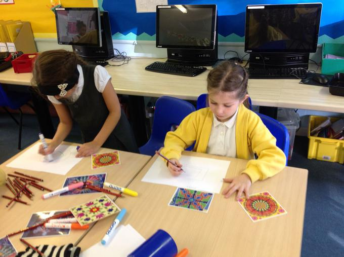 Designing our own Rangoli patterns