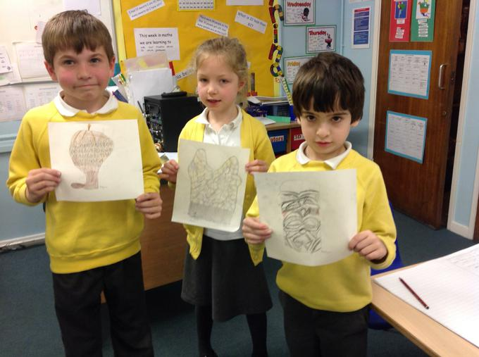 Some of our fantastic still-life drawings