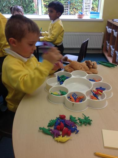 Matching quantities to numerals